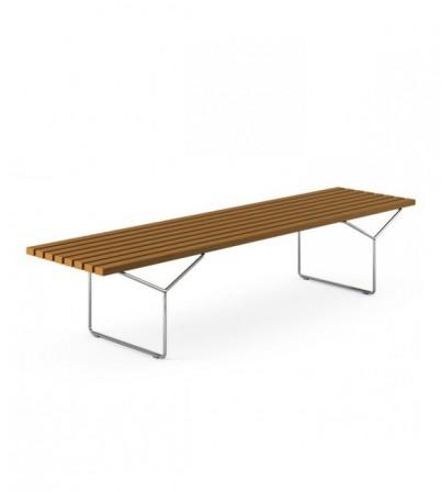 Bertoia Style Bench