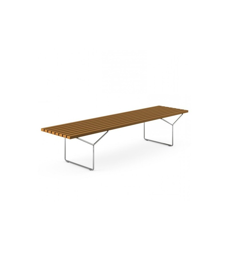 Bertoia Style Bench - Bertoia coffee table