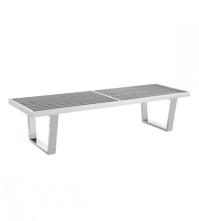 Nelson Stainless Steel Bench