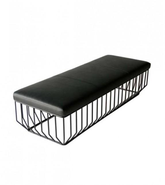 Reza Feiz Style Leather Bench