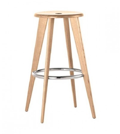 Jean Prouve Style Bar Stool