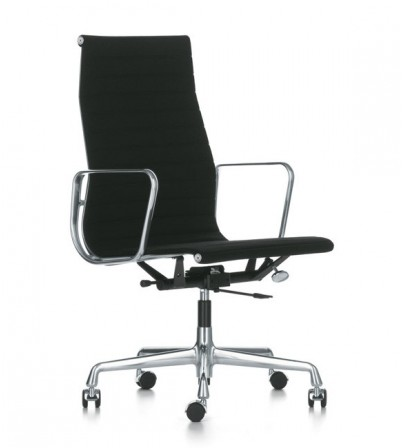 Eames Style High Back Aluminium Chair