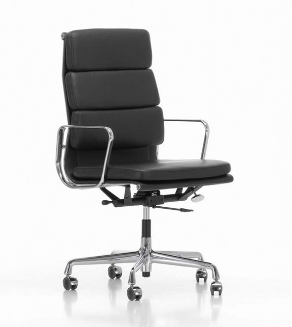 Eames Style High Back Soft Pad fice Chair