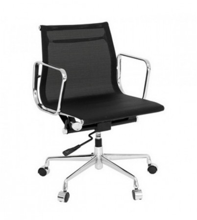 Eames Style Low Back Mesh Office Chair