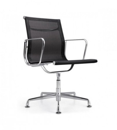Low Back Mesh Office Chair (No Wheels)