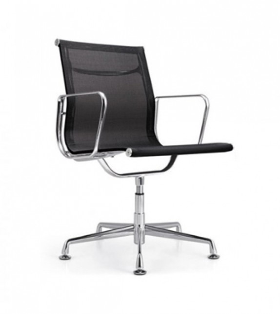 Low Back Mesh Office Chair No Wheels