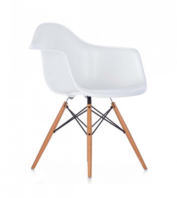 Eames Style DAW Plastic Armchair