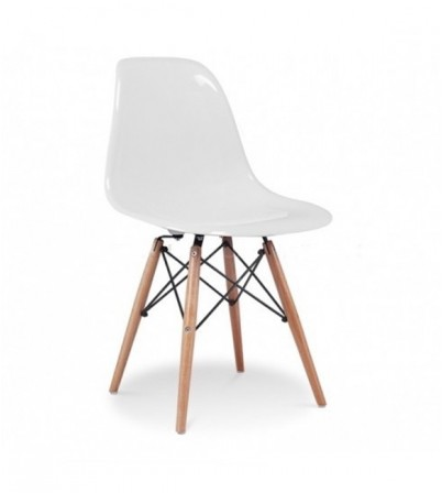 Eames Style DSW Plastic Side Chair (Premium Version)