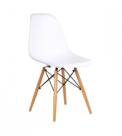 Eames Style DSW Plastic Side Chair