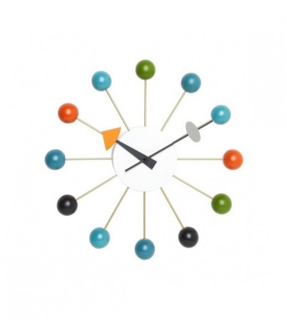 George Nelson Style Ball Clock