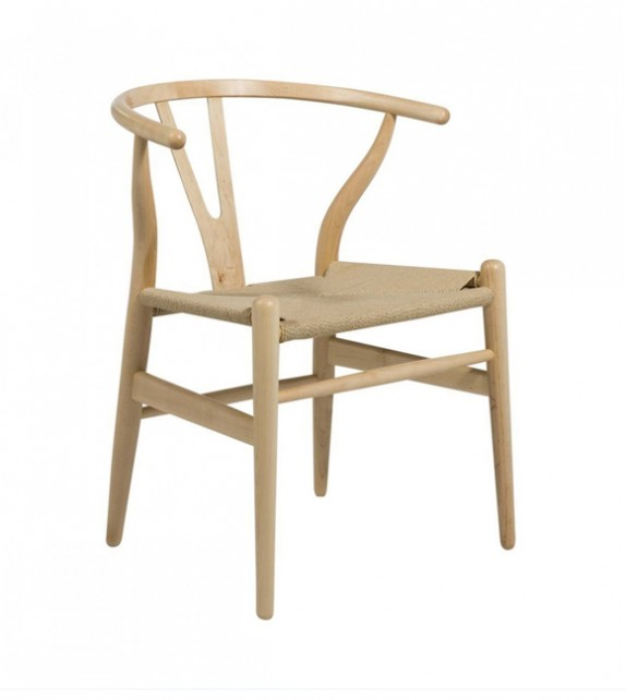 Hans J Wegner Style Wishbone Chair Stunning Design