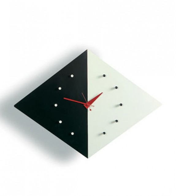 George Nelson Style Kite Clock