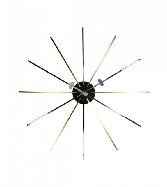 George Nelson Style Star Clock
