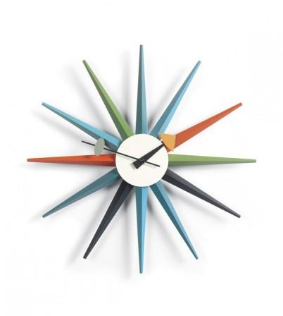 George Nelson Style Starburst Clock