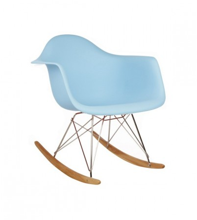 Kids Eames Style RAR Rocking Chair