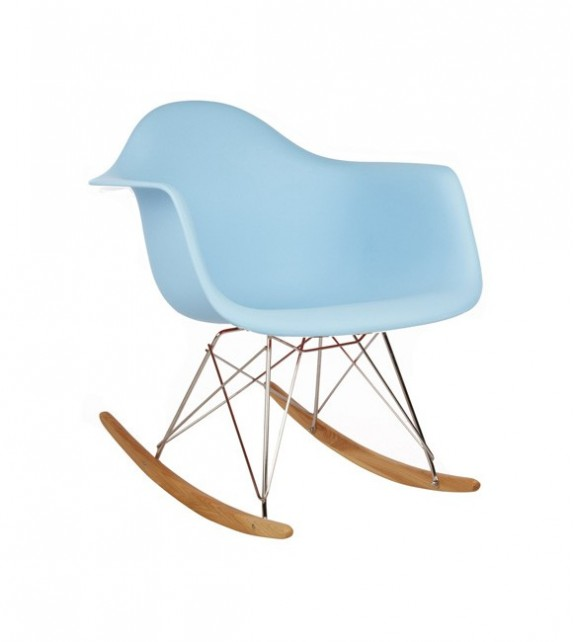 Kids Eames Style RAR Rocking Chair  sc 1 st  Unica Interior & Kids RAR Rocking Chair