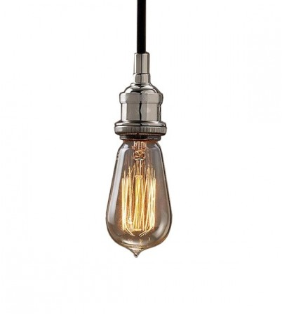 R.H Style Bare Bulb Filament Single Pendant