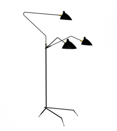 S.M Style three-arm Floor lamp