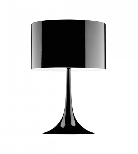 Spun table lamp tulip table lamp aloadofball Image collections