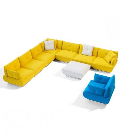Hudson L Shape Sofa