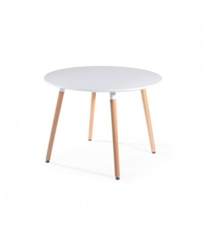 S.D Style Copine Round Table (4 Legs)