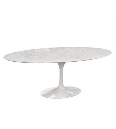 Tulip Oval Table (Marble Table Top)