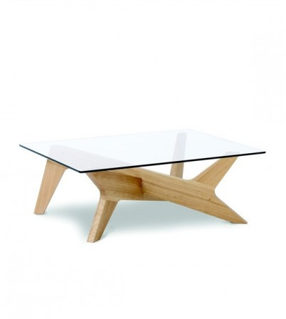 M.H Style Cross Coffee Table