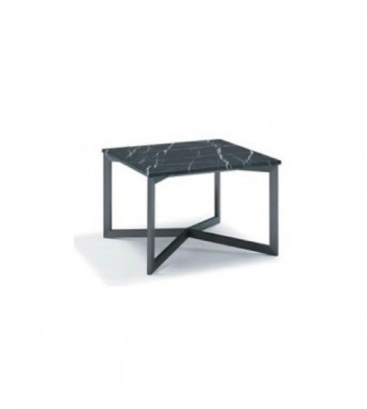 Nobi Square Coffee Table (Black Marble Top)